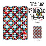 Cute Pattern Gifts Playing Cards 54 Designs  Front - Heart3
