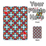 Cute Pattern Gifts Playing Cards 54 Designs  Front - Heart6
