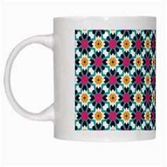 Cute Pattern Gifts White Mugs by creativemom