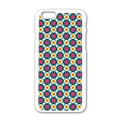 Cute Pattern Gifts Apple Iphone 6 White Enamel Case by creativemom