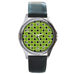 Cute Pattern Gifts Round Metal Watches by creativemom