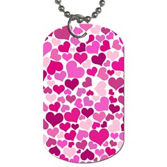 Heart 2014 0932 Dog Tag (two Sides)