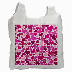 Heart 2014 0932 Recycle Bag (one Side)