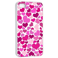 Heart 2014 0932 Apple Iphone 4/4s Seamless Case (white)