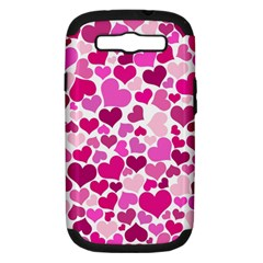 Heart 2014 0932 Samsung Galaxy S Iii Hardshell Case (pc+silicone)