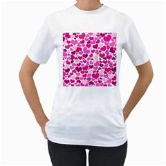 Heart 2014 0932 Women s T Shirt (white)