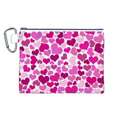 Heart 2014 0932 Canvas Cosmetic Bag (l) by JAMFoto
