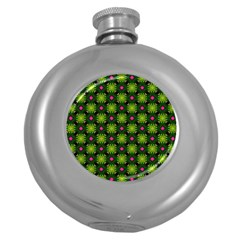 Cute Pattern Gifts Round Hip Flask (5 Oz) by creativemom