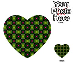 Cute Pattern Gifts Multi Purpose Cards (heart)