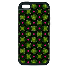 Cute Pattern Gifts Apple Iphone 5 Hardshell Case (pc+silicone) by creativemom