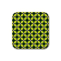 Cute Pattern Gifts Rubber Square Coaster (4 Pack)  by creativemom