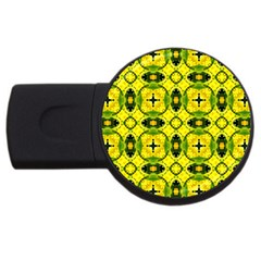 Cute Pattern Gifts Usb Flash Drive Round (2 Gb)  by creativemom