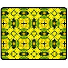 Cute Pattern Gifts Double Sided Fleece Blanket (Medium)  by creativemom