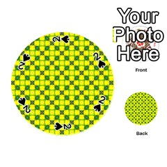 Cute Pattern Gifts Playing Cards 54 (round)