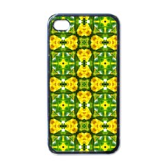 Cute Pattern Gifts Apple Iphone 4 Case (black) by creativemom