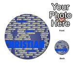 Christian Multi-purpose Cards (Round)  Front 20