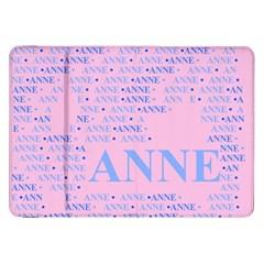 Anne Samsung Galaxy Tab 8 9  P7300 Flip Case by MoreColorsinLife