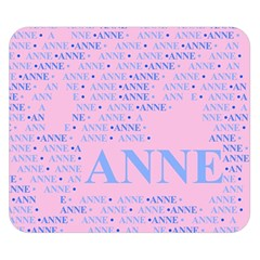 Anne Double Sided Flano Blanket (small)  by MoreColorsinLife