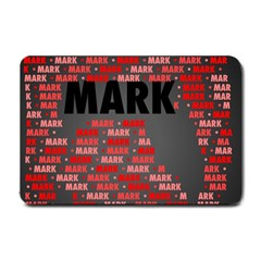 Mark Small Doormat  by MoreColorsinLife