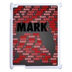 Mark Apple Ipad 2 Case (white) by MoreColorsinLife