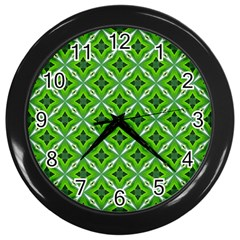 Cute Pattern Gifts Wall Clocks (black) by creativemom