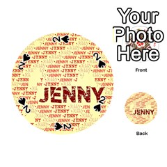 Jenny Playing Cards 54 (round)