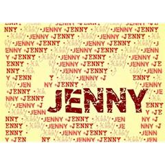 Jenny Birthday Cake 3d Greeting Card (7x5)
