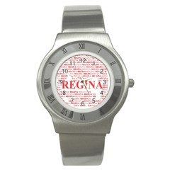 Regina Stainless Steel Watches by MoreColorsinLife