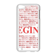 Regina Apple iPod Touch 5 Case (White) by MoreColorsinLife