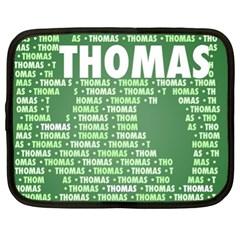 Thomas Netbook Case (xl)  by MoreColorsinLife