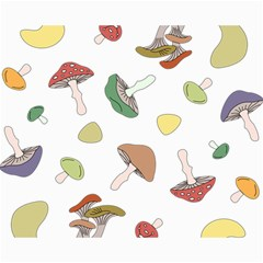 Mushrooms Pattern 02 Canvas 16  X 20   by Famous