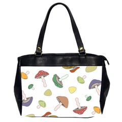 Mushrooms Pattern 02 Office Handbags (2 Sides)  by Famous
