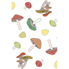 Mushrooms Pattern 02 5 5  X 8 5  Notebooks by Famous