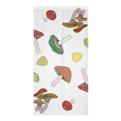 Mushrooms Pattern 02 Shower Curtain 36  X 72  (stall)  by Famous