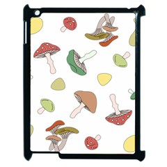 Mushrooms Pattern 02 Apple Ipad 2 Case (black) by Famous