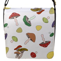Mushrooms Pattern 02 Flap Covers (s)  by Famous