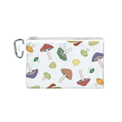 Mushrooms Pattern 02 Canvas Cosmetic Bag (s) by Famous