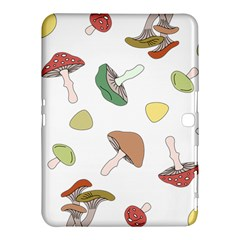 Mushrooms Pattern 02 Samsung Galaxy Tab 4 (10 1 ) Hardshell Case  by Famous
