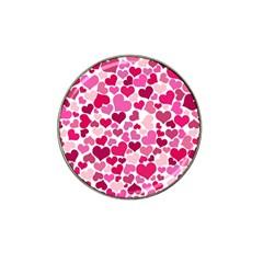 Heart 2014 0933 Hat Clip Ball Marker (10 Pack)