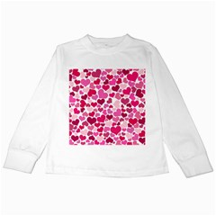 Heart 2014 0933 Kids Long Sleeve T Shirts by JAMFoto