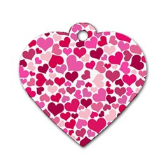 Heart 2014 0933 Dog Tag Heart (two Sides)