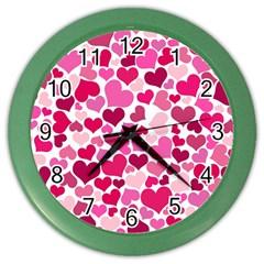 Heart 2014 0933 Color Wall Clocks by JAMFoto