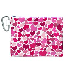 Heart 2014 0933 Canvas Cosmetic Bag (xl)  by JAMFoto
