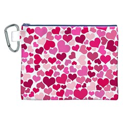 Heart 2014 0933 Canvas Cosmetic Bag (xxl)  by JAMFoto