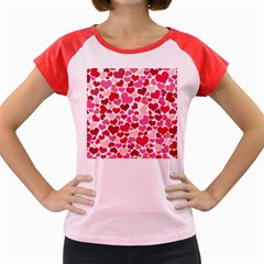 Heart 2014 0934 Women s Cap Sleeve T Shirt