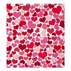 Heart 2014 0934 Shower Curtain 66  X 72  (large)