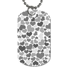 Heart 2014 0936 Dog Tag (One Side) by JAMFoto