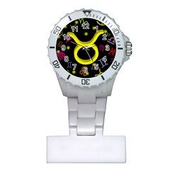 Taurus Floating Zodiac Sign Nurses Watches by theimagezone