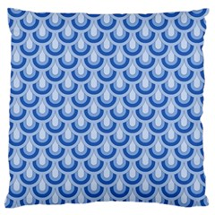 Awesome Retro Pattern Blue Standard Flano Cushion Cases (two Sides)  by ImpressiveMoments