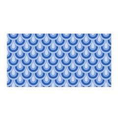 Awesome Retro Pattern Blue Satin Wrap by ImpressiveMoments